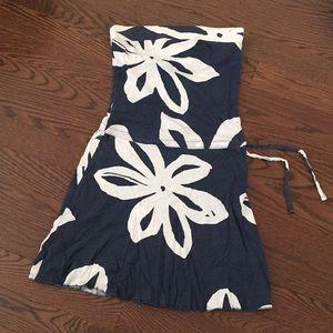 Roxy Strapless floral Summer Dress